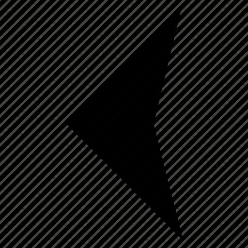 arrow, media, reverse, rewind icon