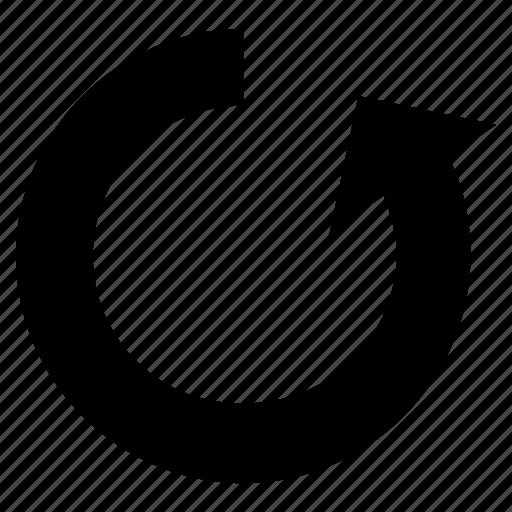 anticlockwise, arrow, arrow circle, direction icon