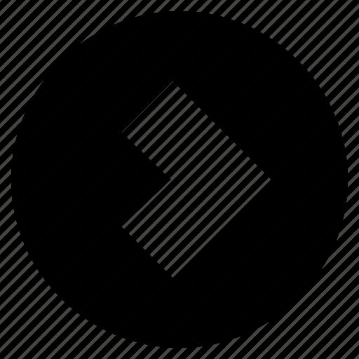 arrow, forward, hint, indication, mini arrow, next icon