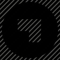 arrow, hint, indication, mini arrow, upright icon