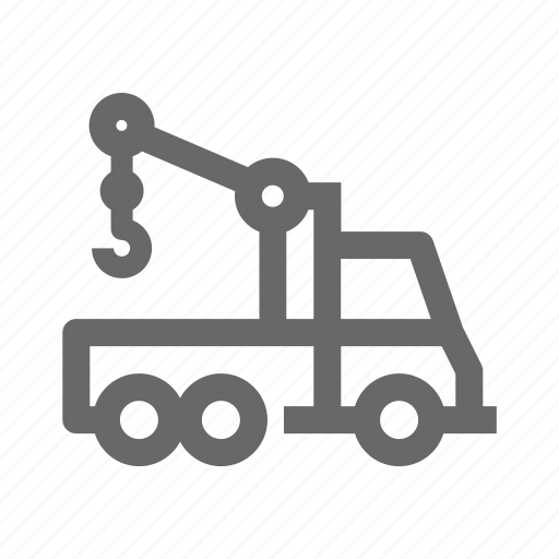 construction, engine, industry, machine, tractor, truck icon