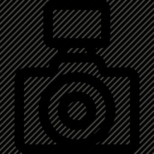 camera, device, flash, image, picture icon