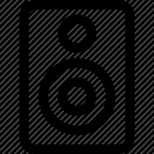 audio, device, music, sound, speaker icon