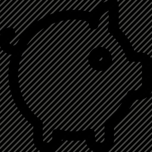 animal, finance, piggy, savings icon