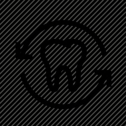 dental, dentist, dentistry, oral hygiene, refresh teeth, teeth, tooth icon