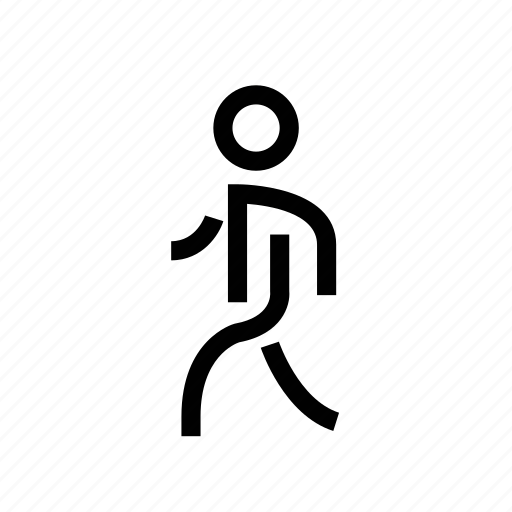 man, navigation, pedestrian, person, sign, walk, walking icon