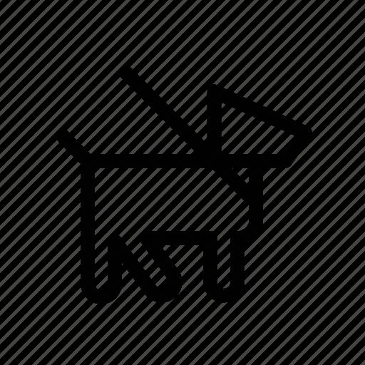 dog, leash, navigation, pet, pet dog, sign, walk icon