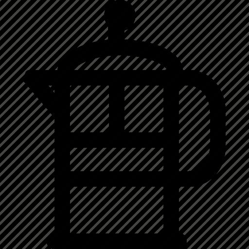breakfast, coffee, drink, equipment, hot, kitchen, maker icon