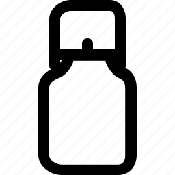 canister, container, equipment, kitchen, milk icon