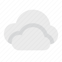cloudy, material design, weather icon