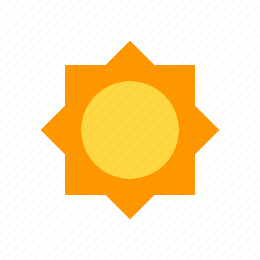 clear, day, material design, weather icon