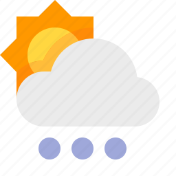 day, hail, heavy, material design, weather icon