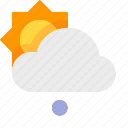 day, hail, light, material design, weather icon