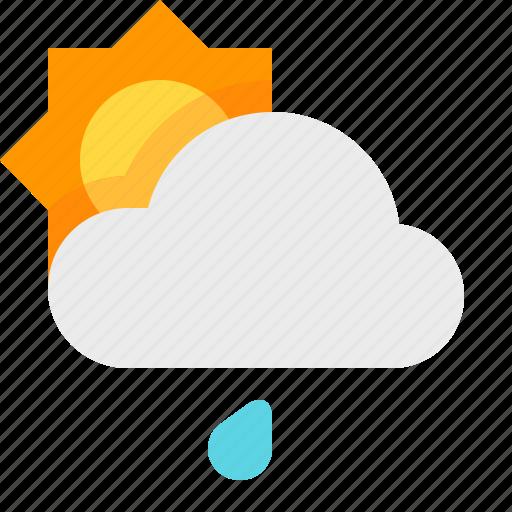 day, light, material design, rain, weather icon