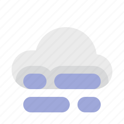 fog, material design, weather icon