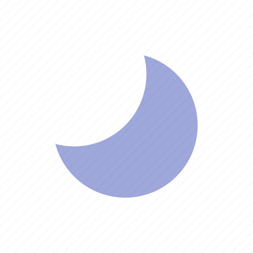 clear, material design, night, weather icon