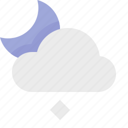 light, material design, night, snow, weather icon