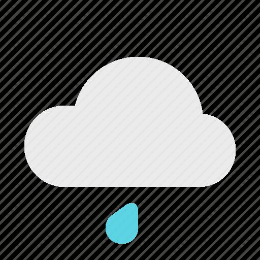 light, material design, rain, weather icon