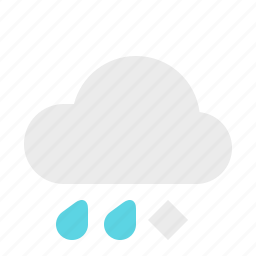 material design, sleet, weather icon