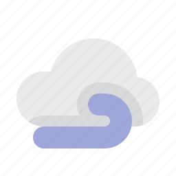 material design, weather, wind icon