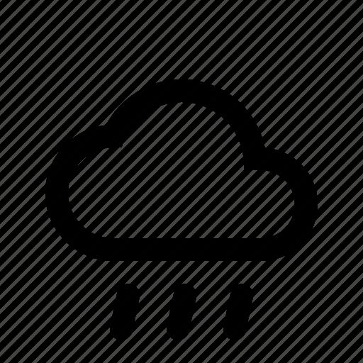 heavy, material design, rain, weather icon
