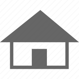 apartment, ecommerce, home, house, hut, property, web icon