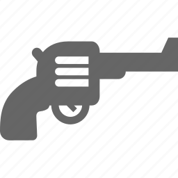 crime, gun, pistol, revolver, war, weapon icon
