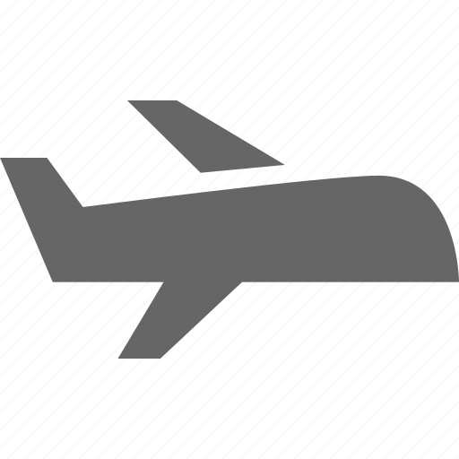 aeroplane, airplane, aitport, flight, plane, travel, travelling icon