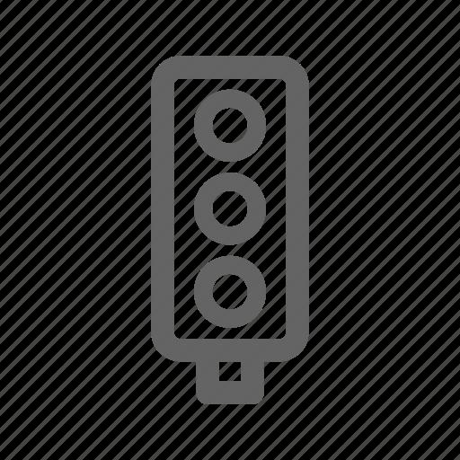 Accident, navigation, road, safety, traffic, transport icon - Download on Iconfinder