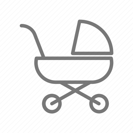 baby, buggy, carriage, infant, newborn, stroller, walk icon