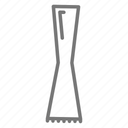 alcohol, bar, crush, hourglass, leaves, muddle, tool icon