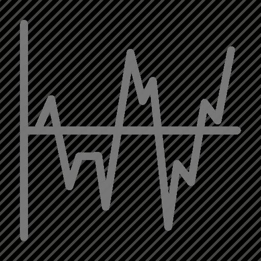chart, data, diagram, fever icon