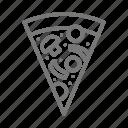 concession, pizza, slice icon