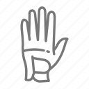 glove, golf, swing icon