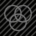 color, color mix, graphic design icon