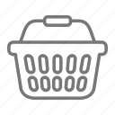 basket, grocery, shopping, store icon