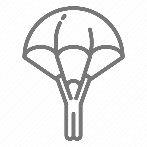 army, military, parachute icon