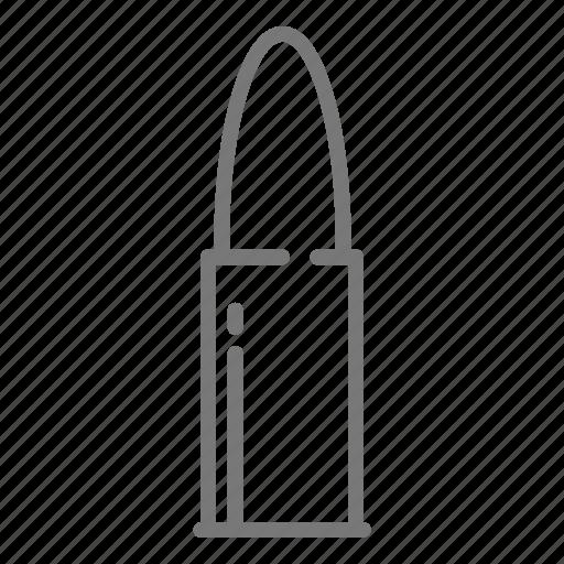 bullet, gun, military icon