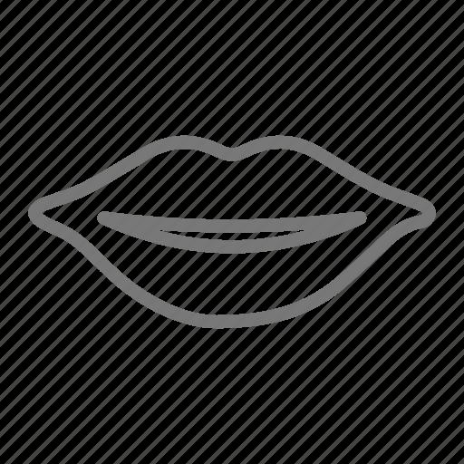 kiss, lips, mouth icon