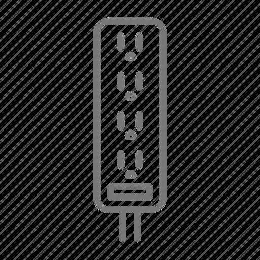 electric, electricity, plug, power, strip icon