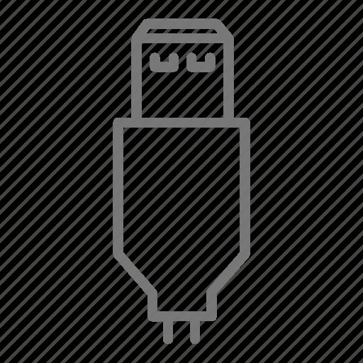 charge, computer, electric, laptop, plug, usb icon