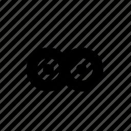 circles, gloss, merge, minimal, points, primitive, unify icon