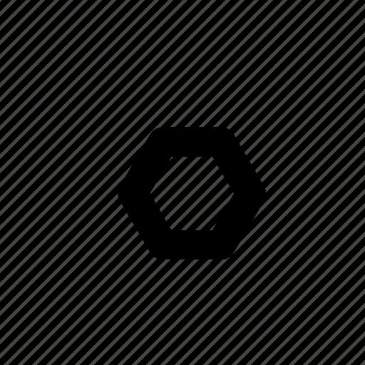 geometric, geometry, hexagon, minimal, pentagon, primitive, ruler icon