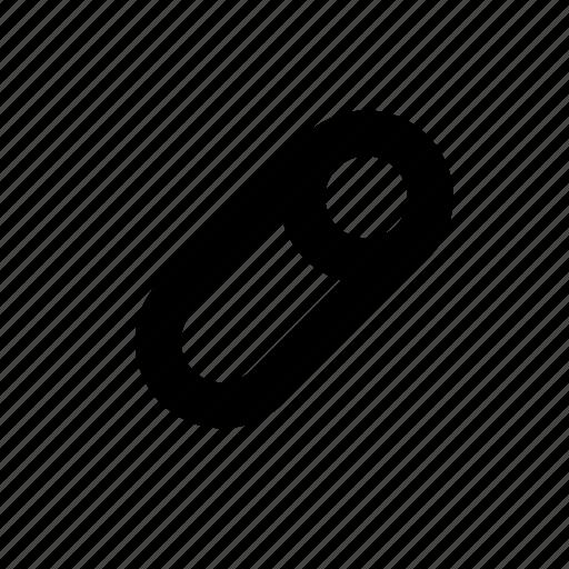 chalk, cilinder, circle, minimal, primitive, round, stick icon