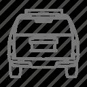 automobile, car, rear, suv, tires icon