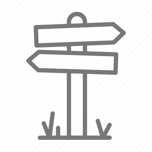 attraction, direction, hike, path, road sign, roadtrip, sign icon