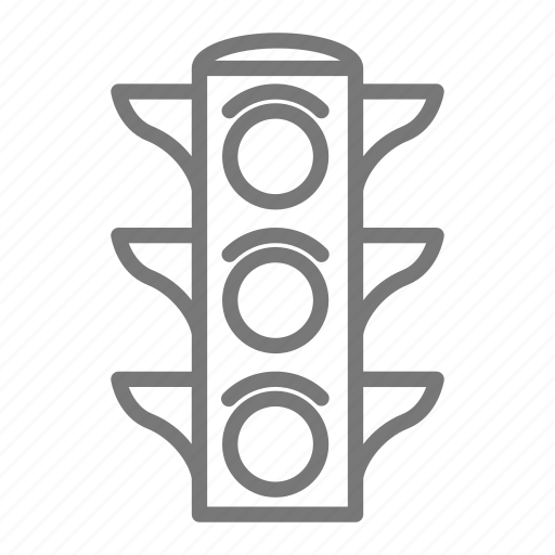 drive, intersection, road, roadtrip, stop, stop light, traffic light icon