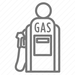 drive, fill up, fuel, gas, gas station, roadtrip icon