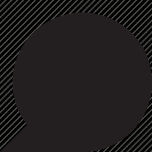 Chat, comment, conversation, message, communication, talk, bubble icon - Download on Iconfinder