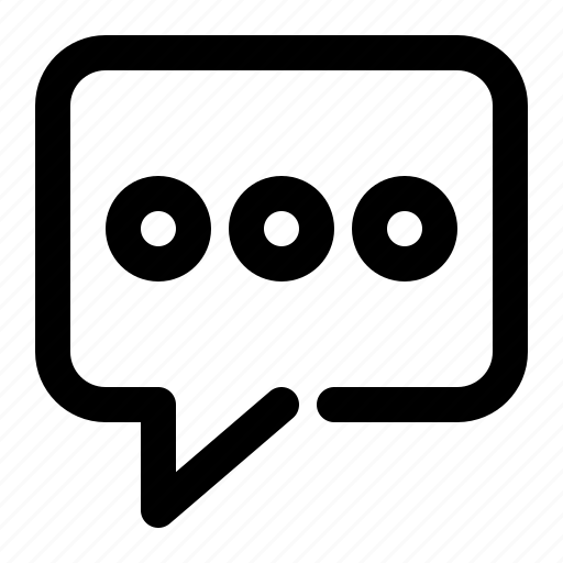 Chat, message, talk, bubble, comment, conversation, speech icon - Download on Iconfinder